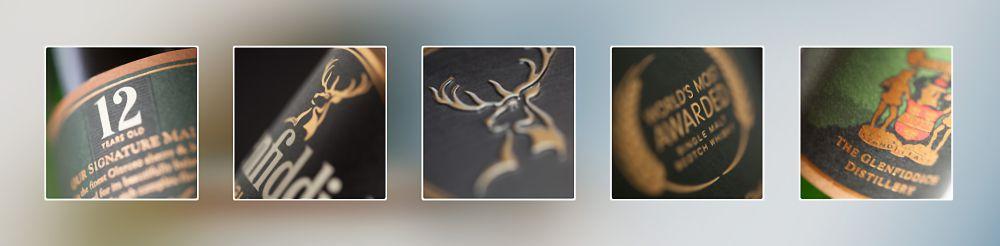 Glenfiddich Lables Fine Art Photography